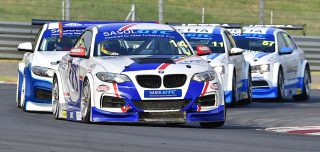 Heading up Friday's programme at Zwartkops will be two races for Sasol Global Touring Cars. Picture: Dave Ledbitter