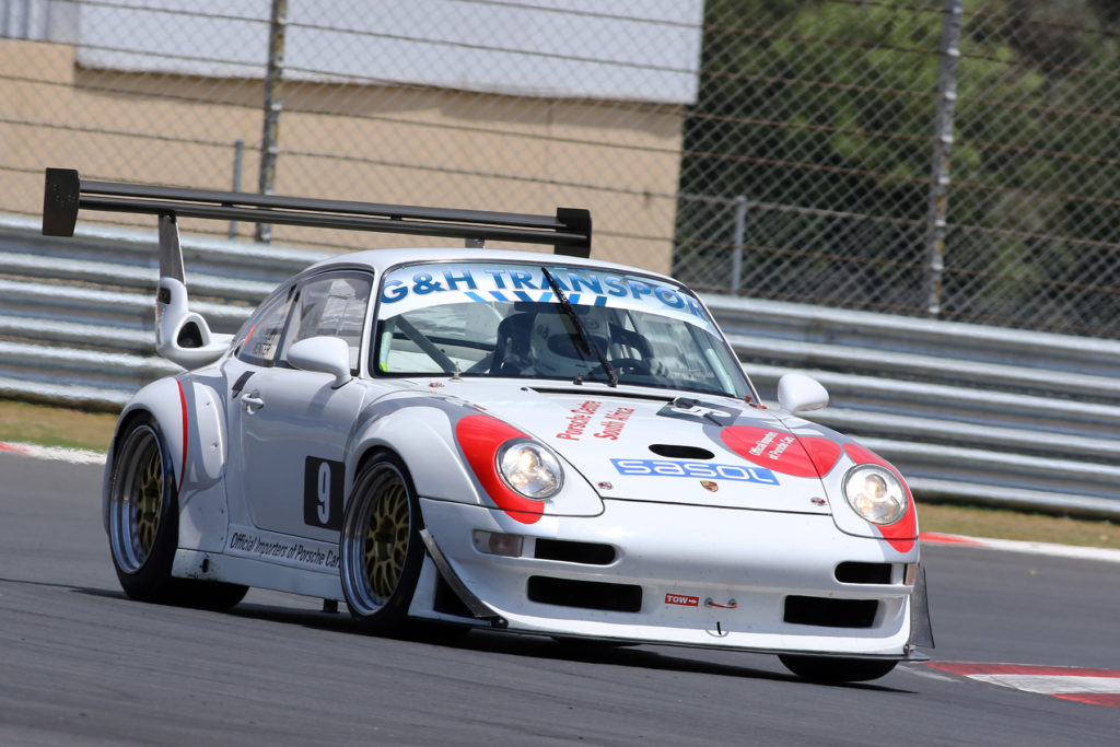Toby Venter could set the day's quickest lap time in his factory entered Porsche 911GT2R - Picture by RacePics.co.za