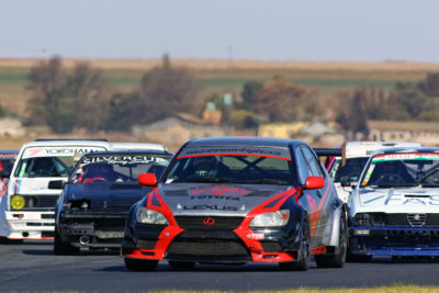Lucas Bezuidenhout (Pta Noord Toyota Lexus) won the second race for 111 Sports and saloon cars - Picture by RacePics.co.za