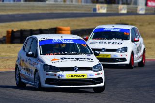 Devin Robertson (Payen Polo) dominated Saturday's Engen Volkswagen Challenge races at Zwartkops. Picture: Dave Ledbitter