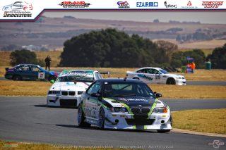 Riaan Woest (Viking Mining Solutions BMW E46 M3 GTR) overall Class B winner