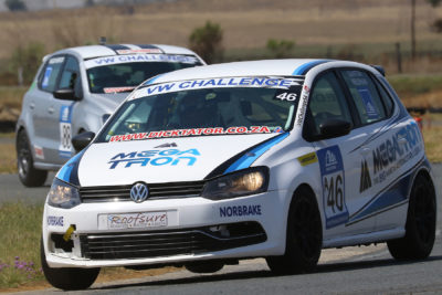 Quinton Needham is confident about his chances following further development on the Megatron Volkswagen Polo - Picture by Reynard Gelderblom