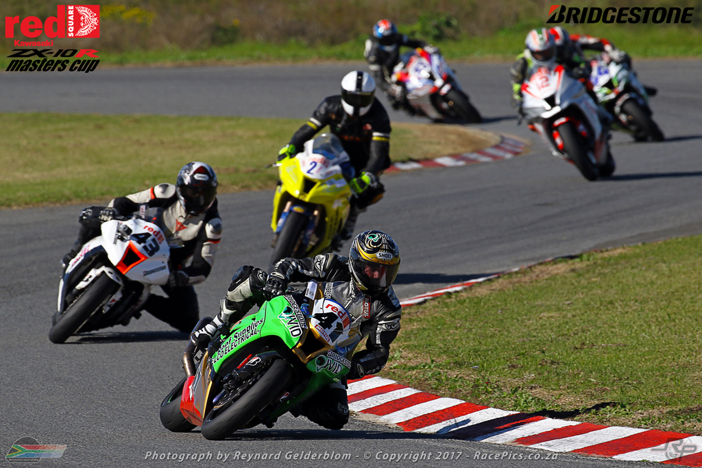 Race Report - Red Square Kawasaki ZX-10R Masters Cup - Round 4 - 20 May 2017 - East London