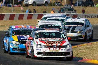 VW Challenge field led by Stiaan Kriel - Picture by RacePics.co.za
