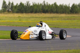 Andrew Horne won both races - Picture by Paul Bedford