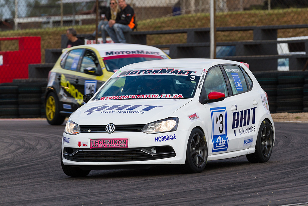 Rory Atkinson took the second class A race from Lyle Ramsay - Picture by Paul Bedford