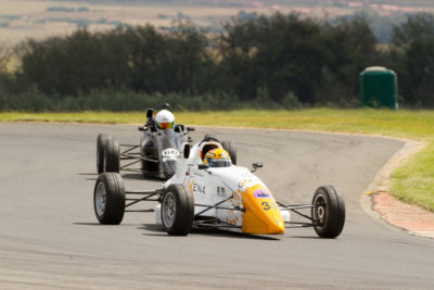 Andrew Horne leads David Jermy - Picture by Paul Bedford
