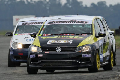 Lyle Ramsay's 2018 MotorMart VW Challenge season got off to a nightmare start with mechanical problems plaguing his Class A Monroe Racing Volkswagen Polo - Picture by Reynard Gelderblom