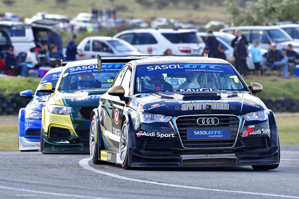 Michael Stephen (Engen Audi) should be the weekend's Sasol Global Touring Car victory favourite - Picture by David Ledbitter