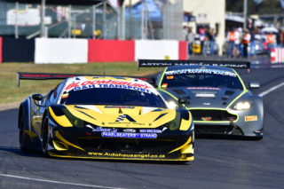 Marcel Angel (Autohaus Angel Ferrari 458 GT3) should be a front contender in the races for G&H Transport Extreme Supercars - Picture by Paul Bedford