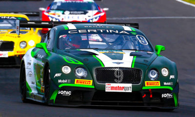 Toby Venter's Bentley Continental GT3 will make its debut in Saturday's races for G&H Transport Extreme Supercars - Picture supplied by Andre de Kock