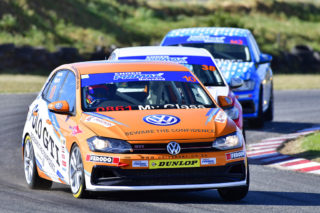 Jonathan Mogotsi (VW Motorsport Polo) could win the Engen Polo Cup races - Picture by David Ledbitter