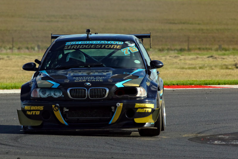 An impressive debut by youngster Jagger Robertson (Viking/Big Boss Auto BMW E46 M3)