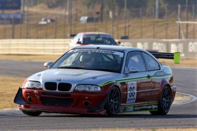 Overall Championship leader Antonie Marx (BMW E46 M3) - Class C