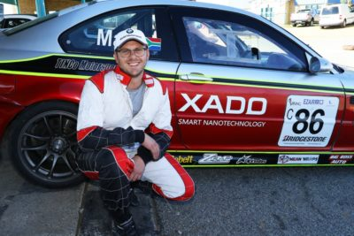 Antonie Marx during the announcement of new title sponsor Xado Smart Nanotechnology on Saturday morning