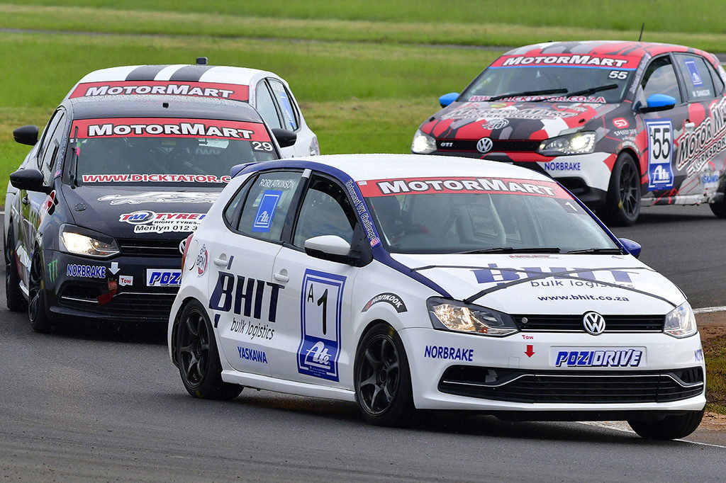 The MotorMart Volkswagen Challenge races will top Saturday's Extreme Festival programme at the Midvaal Raceway. Picture: Dave Ledbitter.