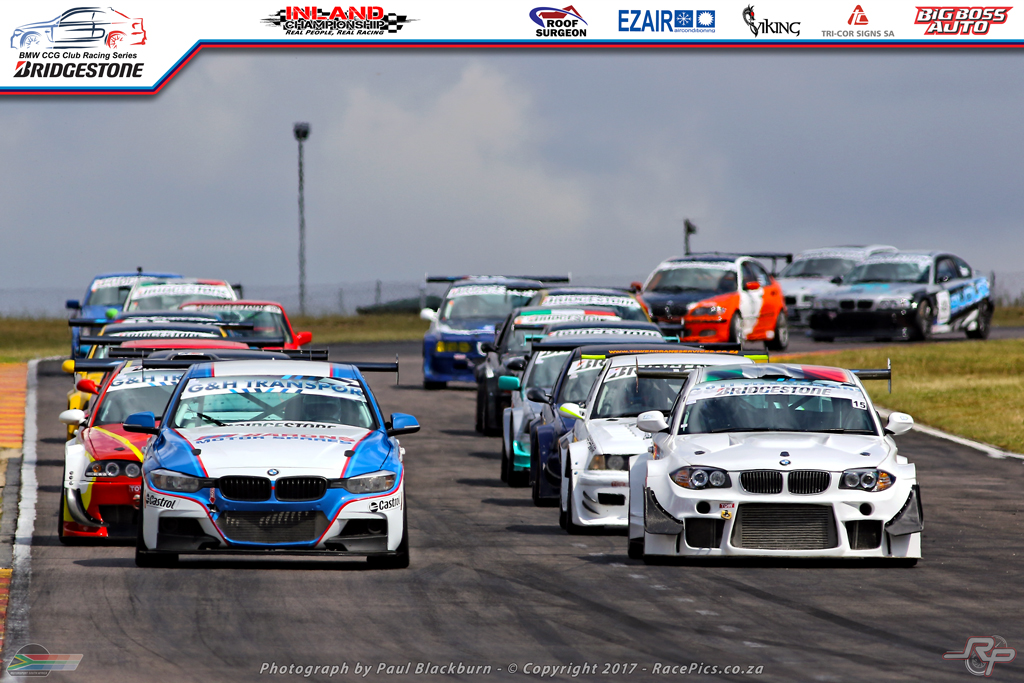 An impressive field for round 3 of the Bridgestone BMW Club Racing Series