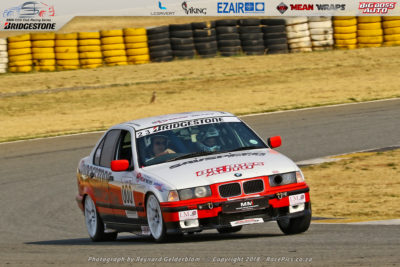 BMW Car Club race car at the Phakisa Freeway - Picture by RacePics.co.za