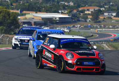 Brad Liebenberg - Ferodo MINI JCW - Picture by David Ledbitter