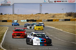 Hard fought battles typified Round 6 of the Bridgestone BMW Series