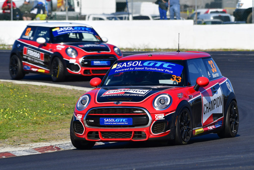 Champion MINI JCW - Chris Shorter - Picture by David Ledbitter