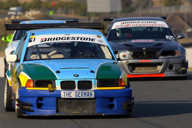 Andreas Meier (#TrainedAmateur BMW E36 STC)