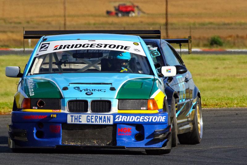 Class B: Andreas Meier (#TrainedAmateurs BMW E36 STC)