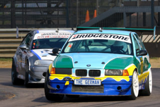 Class B and overall championship leader Andreas Meier (The German BMW E36 STC Car)
