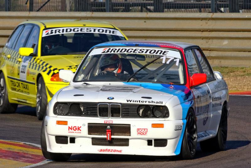 Class D: Shane Grobler (Mayfair Gearbox BMW E30 325i)