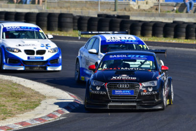 Engen Audi GTC - Michael Stephen - Picture by David Ledbitter