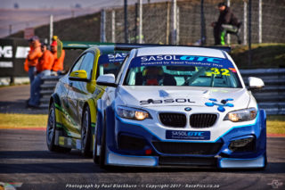 Given a bit of luck and two victories, Gennaro Bonafede (Sasol BMW) could emerge as the year's overall Sasol Global Touring Car champion. Picture: RacePics.co.za