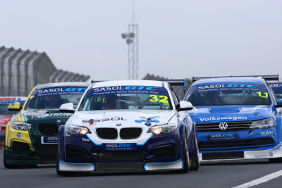 Gennaro Bonafede (Sasol BMW) should be a favourite to win Saturday's Sasol Global Touring Car races at Killarney - Picture by RacePics.co.za