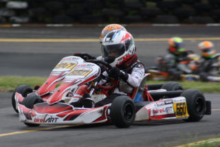 Ryan Asmal and Bjorn Bertholdt competing in the Micro Max class - Picture supplied by Motorsport & Marketing Services