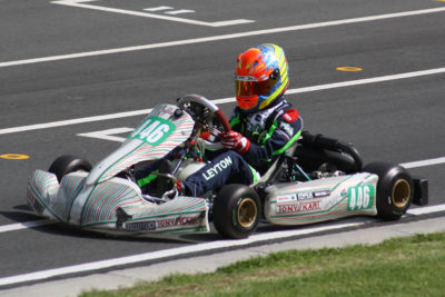 Leyton Fourie - Picture by Motorsport & Marketing Services