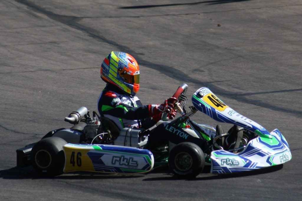 Leyton Fourie - Picture supplied by Motorsport & Marketing Services