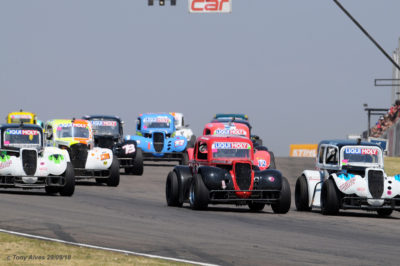 The day's closest racing could be provided by the Liqui Moly INEX Lagend brigade. Photo: Tony Alves.