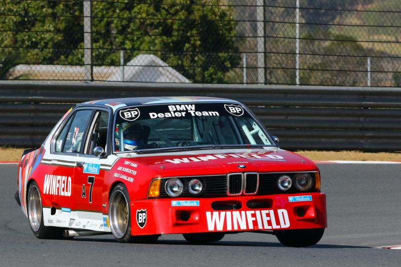 Jaki Scheckter - ex-Tony Viana BMW E23 745i Modified