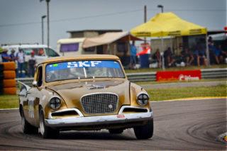 Frans van Maarschalkerwaart from Holland will drive this Studebaker Golden Hawke. Picture: RacePics.co.za