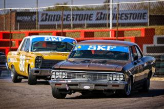 Netherlands driver Michiel Campagne will be in the Smokey Yunick Chevelle. Picture: RacePics.co.za