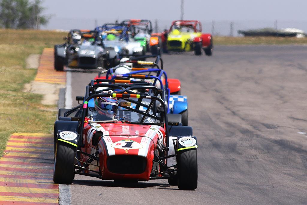 Lotus Challenge. Picture: RacePics.co.za