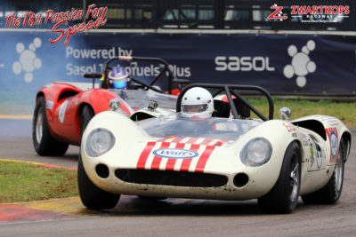 Mark and Jonathan du Toit (Lola T70 Spyder)