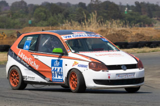 Adrian Wood extended his Class B championship lead at Midvaal Raceway - Picture by Paul Bedford