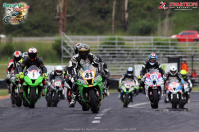 Motorcycle fans catered for at Zwartkops Raceway this Sunday, 3 Feb