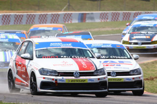 Jeffrey Kruger clinched the season's Engen Polo Cup title in his Universal Health Polo. Picture: RacePics.co.za