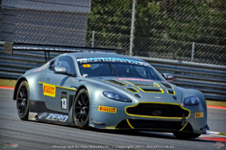 Charl Arangies (Stradale Aston Martin Vantage GT3) should be the man to beat in the races for G&H Transport Extreme Supercars. Picture: RacePics.co.za