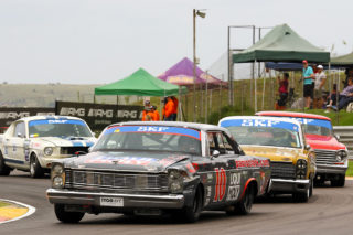 Sarel van der Merwe (Ford Galaxie). Picture: RacePics.co.za