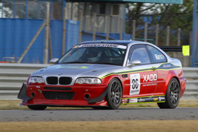 It will be all to play for when Antonie Marx gets behind the wheel of his Xado Smart Nanotechnology BMW at Zwartkops Raceway. Photo: Paul Blackburn
