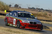 Antonie Marx during Round 4 in his Atomic Oil BMW M3 - Picture by Reynard Gelderblom