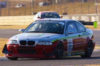 Antonie Marx during his victories second race behind the wheel of his Atomic Oil BMW M3 - Picture by Paul Blackburn