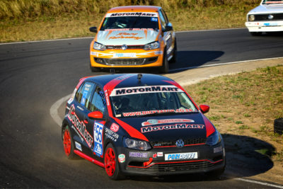 Mohamed Dangor would love to continue his podium-run at the Phakisa Freeway - Picture by Reynard Gelderblom